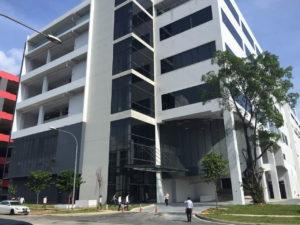 シンガポールの食品製造施設